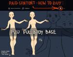 P2U fullbody base by nextlvl-adopts