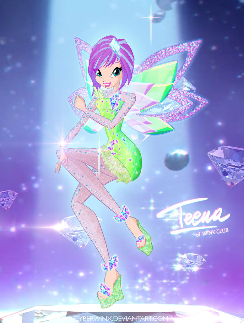 Winx Club Tecna Tynix By Cyberwinx On Deviantart