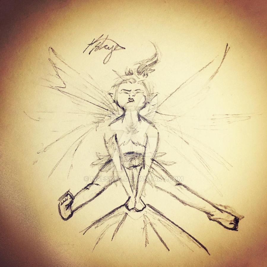 Helpful Fairy Sketch