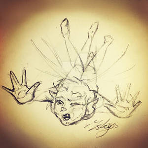 Clumsy Fairy Sketch