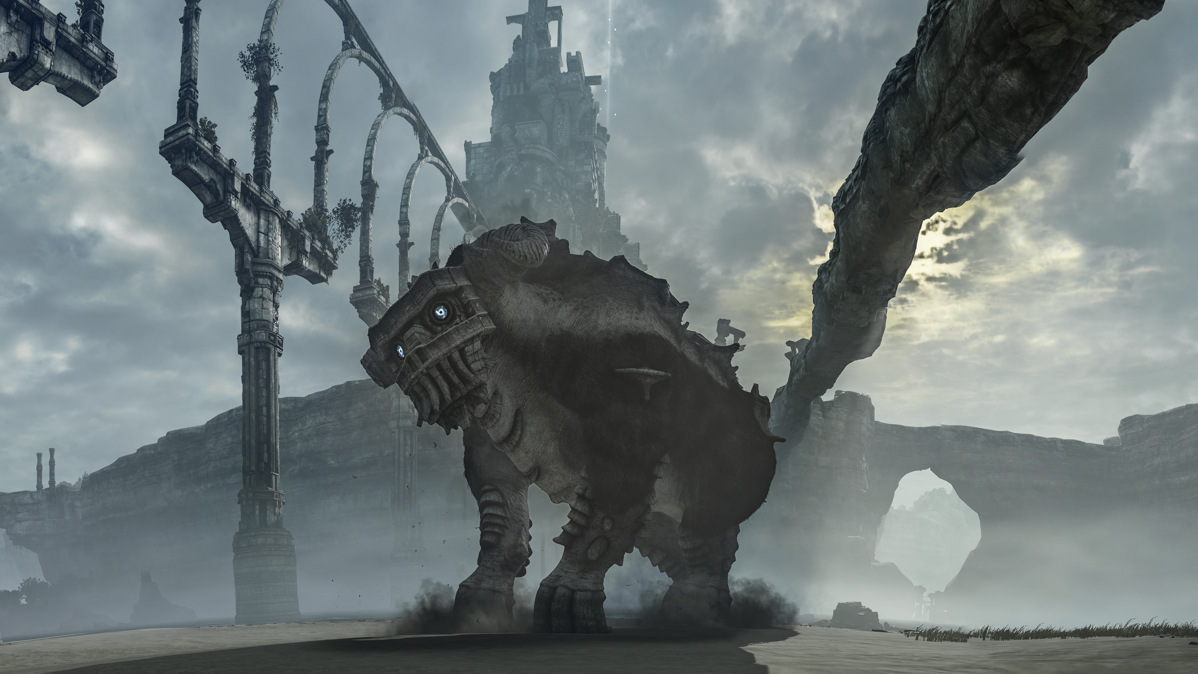 Shadow Of The Colossus Second Boss Wallpaper By Empessah On Deviantart
