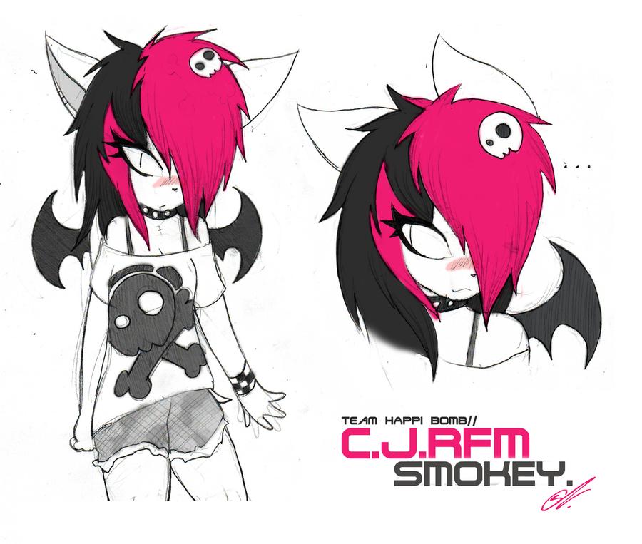 Smokey the Bat Debut by SCIFIJACKRABBIT