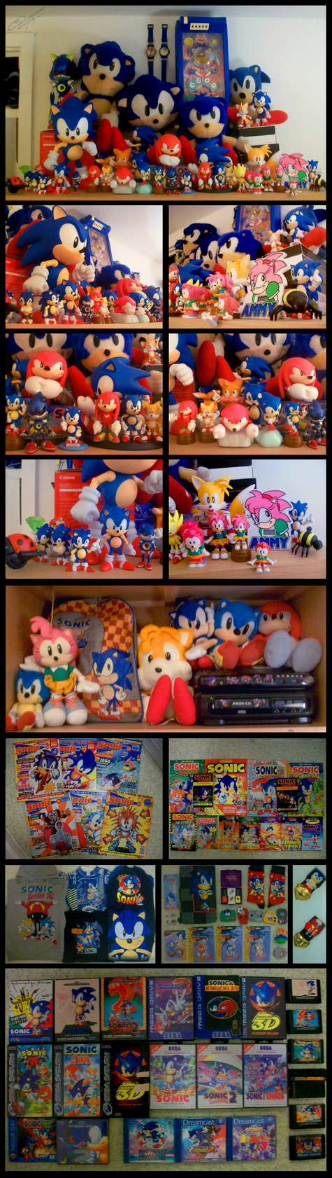My Classic Sonic the Hedgehog Collection 2012 by SCIFIJACKRABBIT