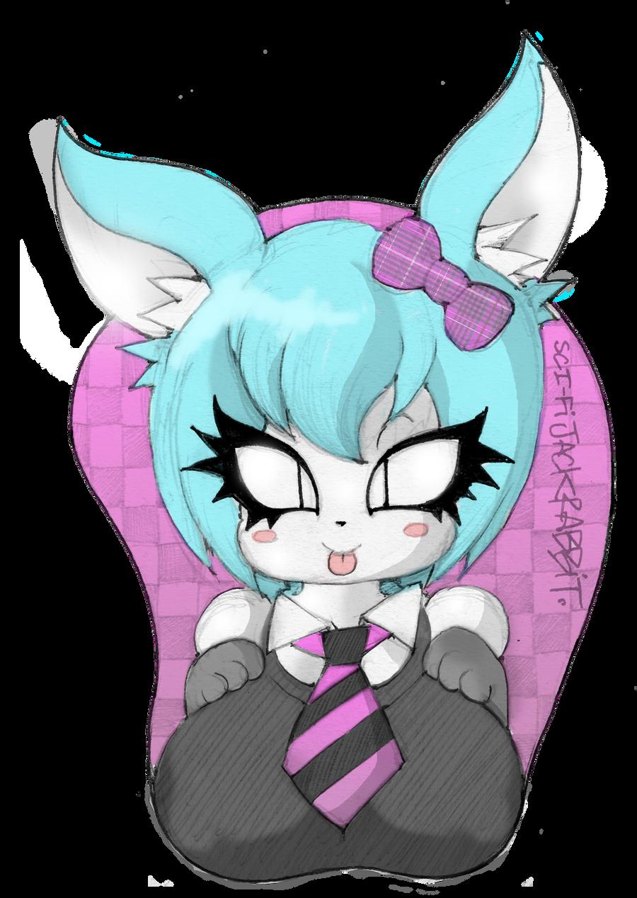 Bunny Boob pad by SCIFIJACKRABBIT