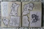 SB 2012 - 21 - Character doodles