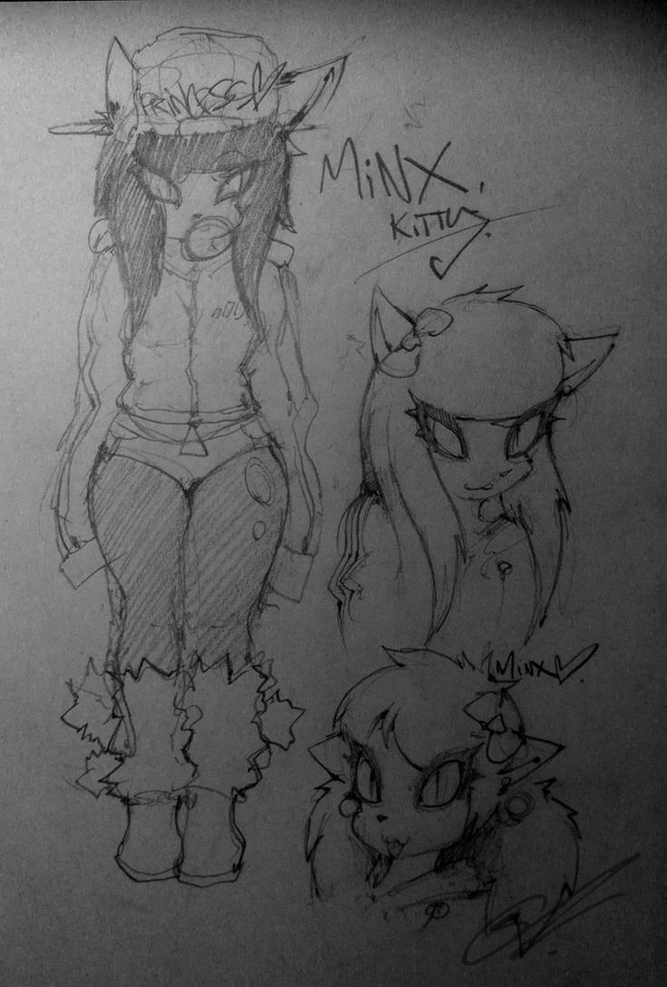 ~ Minx Kitty ~ revamp by SCIFIJACKRABBIT