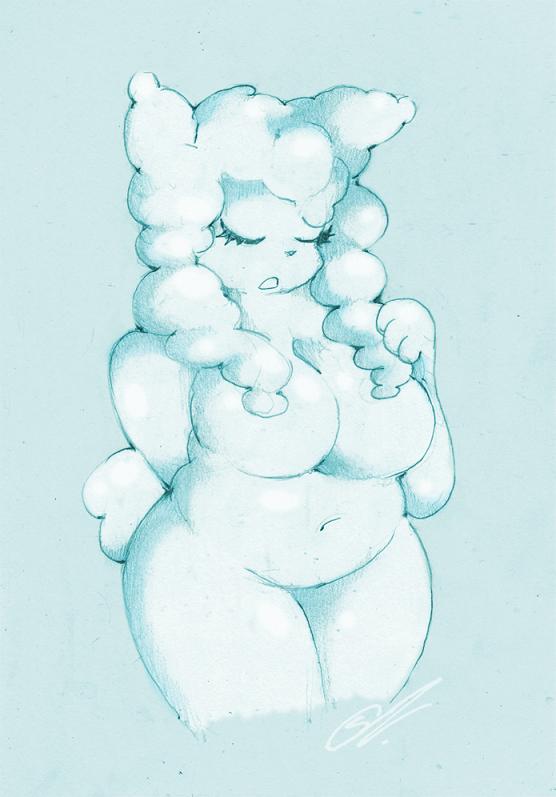 ~ Cloud Girl ~ by SCIFIJACKRABBIT