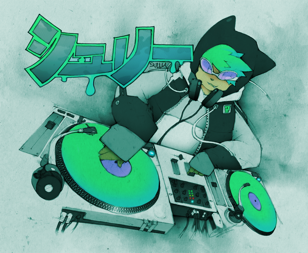 : DJ SULLY : by SCIFIJACKRABBIT