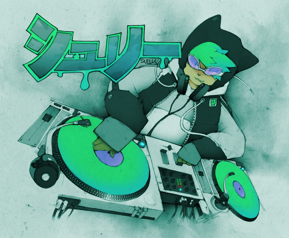 : DJ SULLY : by SCIFIJACKRABBIT
