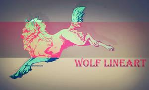 Wolf lineart: P2U