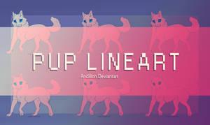 P2U: Pup lineart