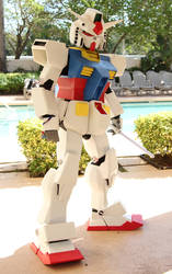 RX78 Cosplay 2 by UbersCosplay
