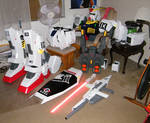 Gundam Mk-II Cosplay - WIP 2