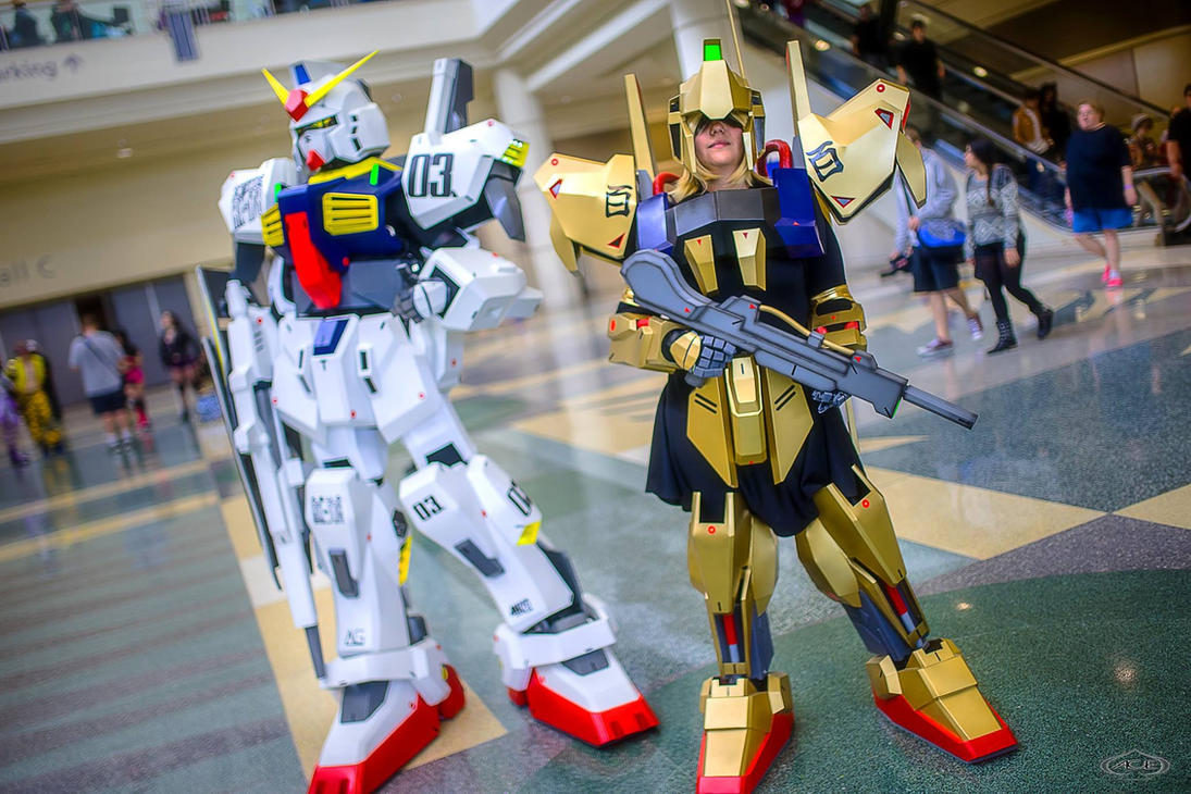 Gundam MK-II and Hyaku-Shiki Cosplay Duo by UbersCosplay