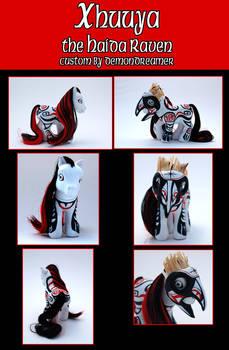 Xhuuya: Haida Raven MLP Custom