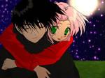 58. Night-Itachi and Sakura
