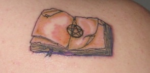Book of Shadows Tattoo by brittybutter2