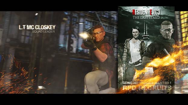 Resident Evil 3 : The last stand - Mc Closkey