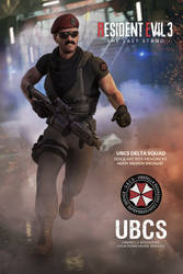 Resident Evil 3 : The last stand - Hendricks