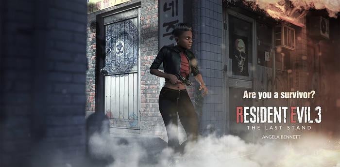 Resident Evil 3 : The last stand - Angela Bennett
