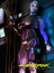 Intruder - Cyberpunk by milo13200
