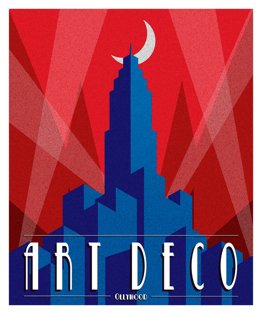 Art deco poster by ollywood on deviantart - Affiche art deco ...
