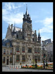 City Hall of Compiegne