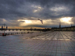 Evening at Bordeaux