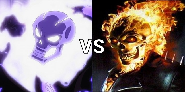 Atomic Skull vs Ghost Rider by Bubbyparker on DeviantArt