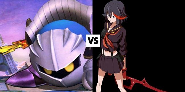 Meta Knight vs Ryuko Matoi by Bubbyparker