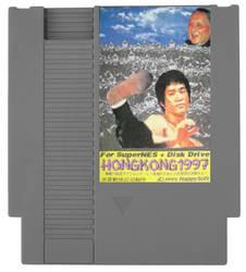 Hong Kong 97 NES Game Cartridge
