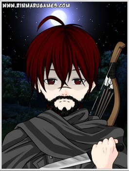 Dave the Hunter in Anime Style