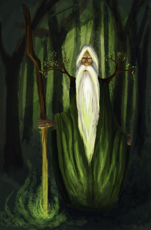 Druid summoner by Vendeah