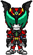 Kamen Rider Dark Kiva by Thunder025