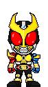 Kamen Rider Agito Trinity Form by Thunder025