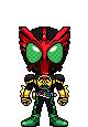 Kamen Rider OOO Tatoba Combo by Thunder025