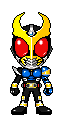 Kamen Rider Agito Storm Form by Thunder025