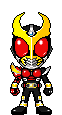 Kamen Rider Agito Flame Form by Thunder025