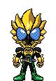 Kamen Rider OOO Latoraba by Thunder025