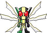 Kamen Rider W CJGX by Thunder025