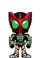 Kamen Rider OOO Takakiritar by Thunder025