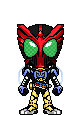 Kamen Rider OOO Takautar by Thunder025