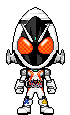 Kamen Rider Fourze Base States by Thunder025
