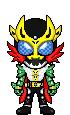 Kamen Rider Neo Gaia Cast by Thunder025