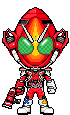 Kamen Rider Fourze Fire States by Thunder025