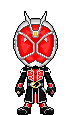 Kamen Rider Wizard Flame Style by Thunder025