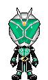 Kamen Rider Wizard Hurricane Style by Thunder025