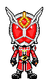 Kamen Rider Wizard Flame Dragon by Thunder025