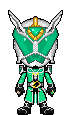 Kamen Rider Wizard Hurricane Dragon by Thunder025