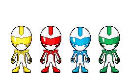 Busou Sentai Enkeranger - Core 4 by Thunder025
